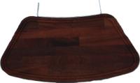 Ablagebrett aus Holz