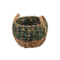 Strohkorb Green - Natural