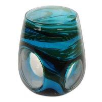 Windlichthalter aus Glas